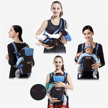 0-30 Months Breathable Front Facing Baby Carrier 4 in 1 Infant Comfortable Sling Backpack Pouch Wrap Baby Kangaroo New