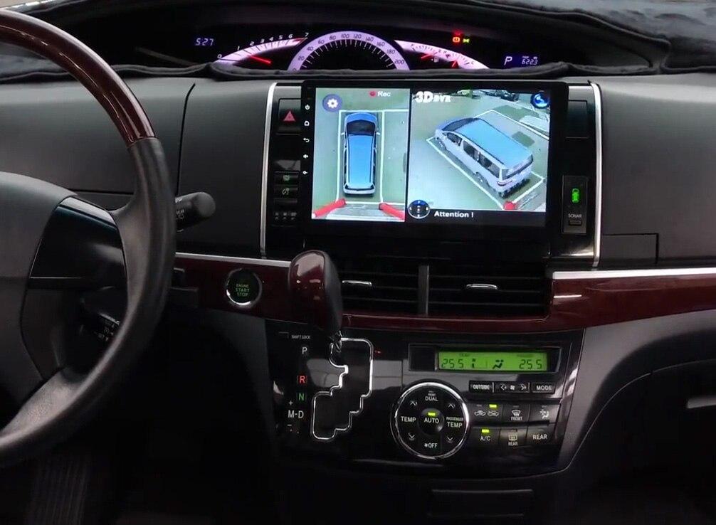 Szdalos Car Multi Angle Camera 3d View Surround View