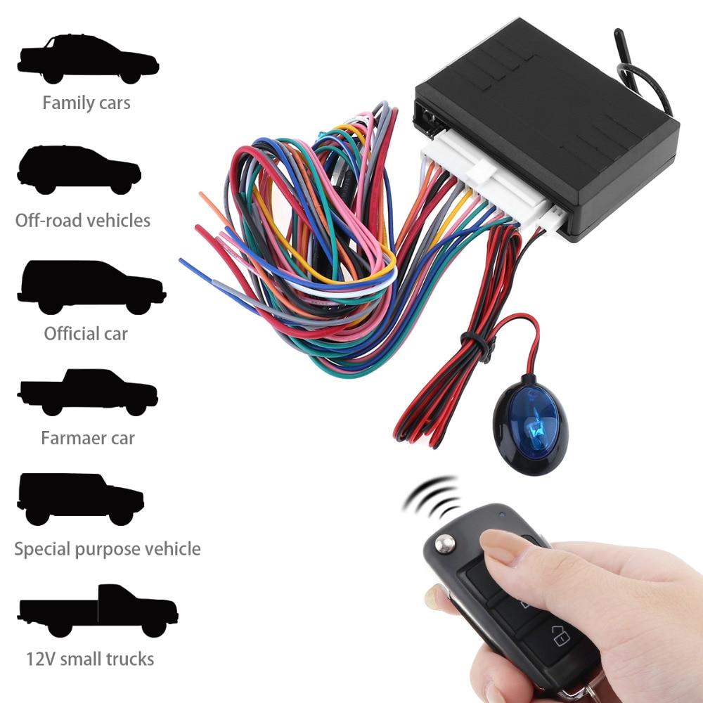 12v Auto Car Alarm System Vehicle Keyless Entry System