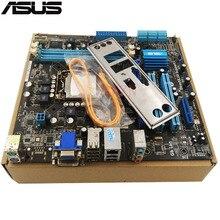 Original Occasion De Bureau carte mère Pour ASUS P7H55-M LX H55 soutien LGA1156 I3 I5 I7 DDR3 soutien 8G SATA2 USB2.0 u ATX