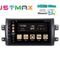 1Din 9 4GB+32GB Car radio For Suzuki sx4 Android 8.0 Steering Wheel Octa Core Car GPS Player Navigation Fast Boot 4G NO DVD