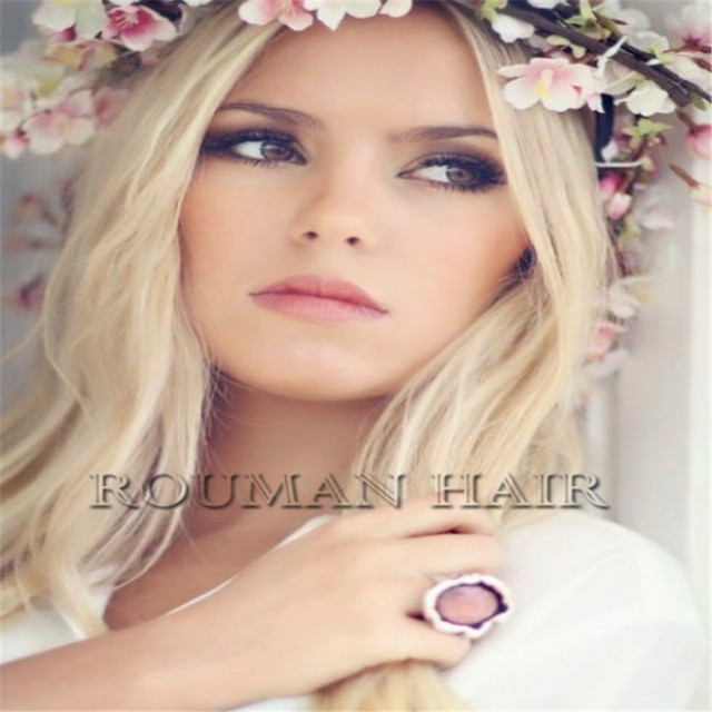 Long Synthetic 24 Full Head Clip In Hair Extensions Clips Brown Blonde Wedding Kanekalon Hairpiece