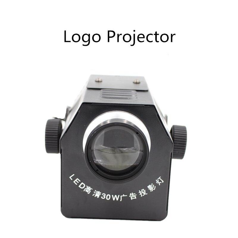 Projecteur Gobo 30 W 50 W Logo personnalisé lentille partie disco ktv scène lumière LED café café lumières haute résolution magasin Restaurant
