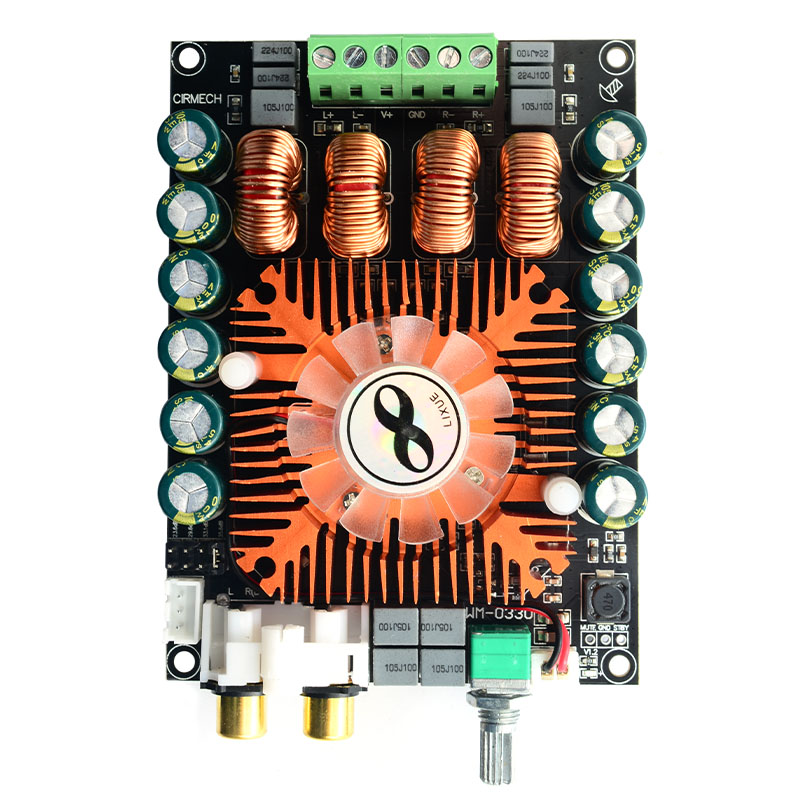 Amplifier Consumer Electronics Cirmech Tda7498e High Power Digital Power Amplifier Board 2.0 Hifi Stereo 160w*2 Support Btl220w Dc12v-36v