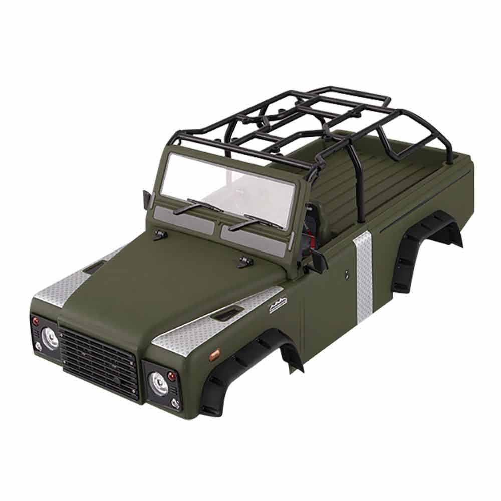 Killerbody MARAUDER _ Ⅱ RC Auto Clear Body Shell Kit met Licht Emmers voor 323mm Wielbasis Traxxas TRX-4 Chassis RC Crawler Auto