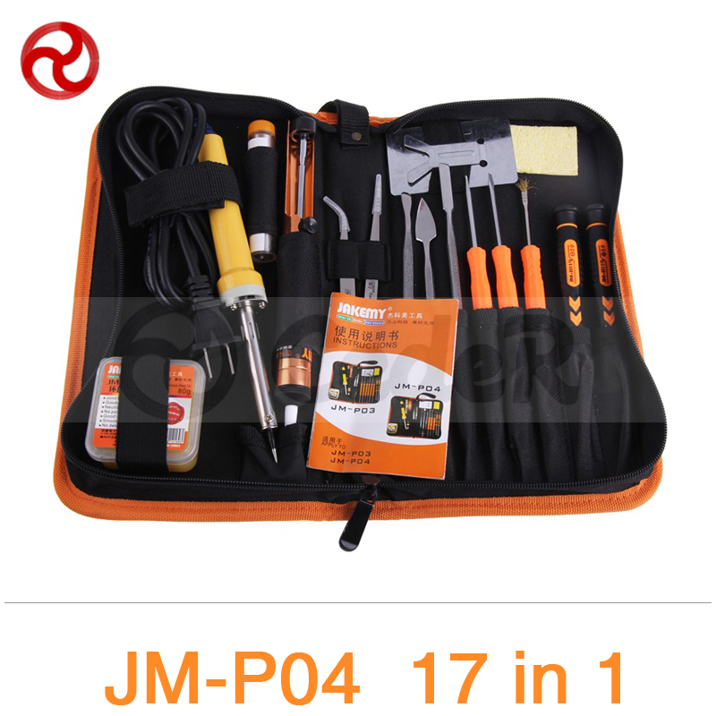 JAKEMY 23 in 1 Primary Welding Tool Set Smartphone Laptop Computer Precision Electronic Soldering Iron Soldering Aid Tool Kit jakemy jm 8144 26 in 1 electronic repair tool kit