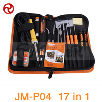 JAKEMY 23 in 1 Primary Welding Tool Set Smartphone Laptop Computer Precision Electronic Soldering Iron Soldering Aid Tool Kit