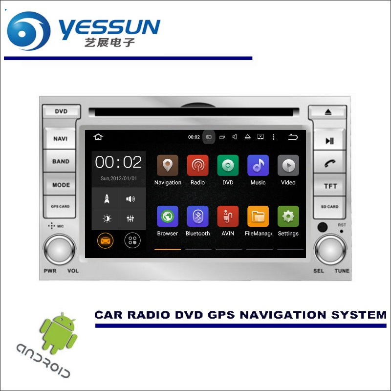 YESSUN Wince / Android Car Multimedia Navigation System For Hyundai i20 2008~2013 CD DVD GPS Player Navi Radio Stereo HD Screen цена