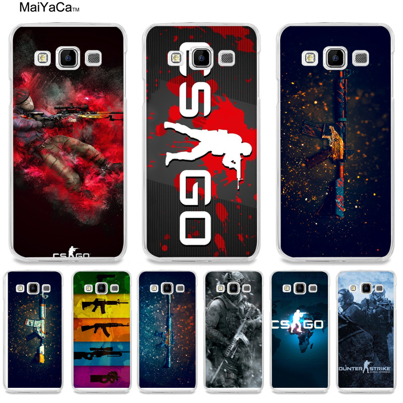 Phone Bags & Cases Maiyaca Cs Go Gun Game High Quality Classic Phone Case Accessories For Samsung A510 A3 A7 A8 A9 Note 4 Note3 Case Funda Half-wrapped Case