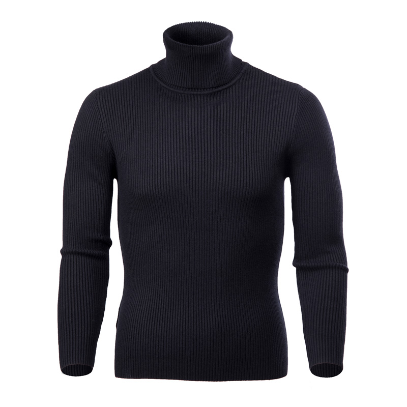COODRONY Winter Thick Warm Cashmere Sweater Men Turtleneck Mens Sweaters Slim Fit Pullover Men Classic Wool Knitwear Pull Homme 14