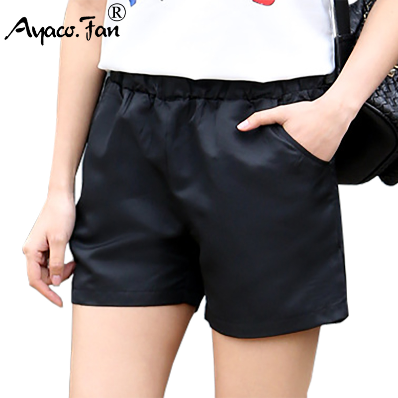 Women   Shorts   2019 Summer New Solid Soft Boyfriend   Shorts   for Girls Student Lady Casual Sexy Slim Hot   Short   Female Clothing