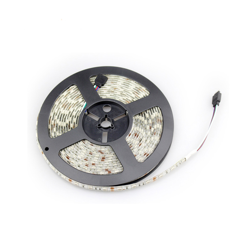 Ahahola smd 5050 rgb led strip waterproof 5M 300 leds led 12v white /white warm /R/G/B/RGB 5050 led light strips neon tape