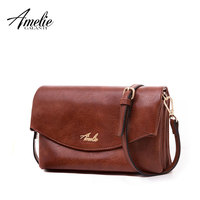AMELIE GALANTI Ladies small bag Messenger Bags Pocket and more fabric is soft fashion Young people's style