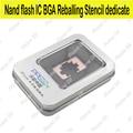 Hdd dedicate bga reballing para iphone 4s 5 5s 6 6 s 7 plus nand IC BGA Herramientas Reball Plantillas Plantar estaño molde