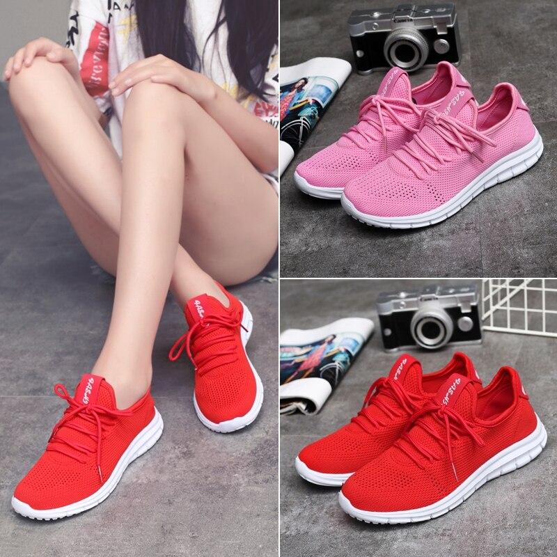 Кроссовки для Для женщин кроссовки New высокого качества легкий и дышащий Открытый Спорт женская обувь кроссовки Для женщин кроссовки
