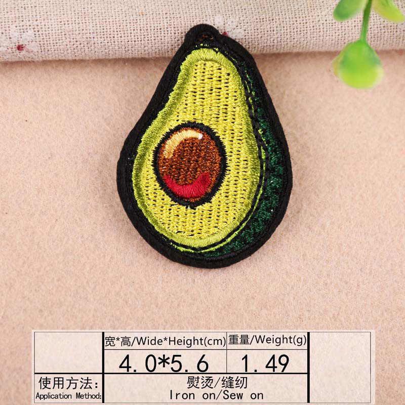 1 cái Anh Đào Thêu Lá Miếng Dán Nhiệt Chuyển Sắt Trên May Trên Miếng Dán cho Quần Áo Quần Áo Dán Trang Trí Appliques 47211