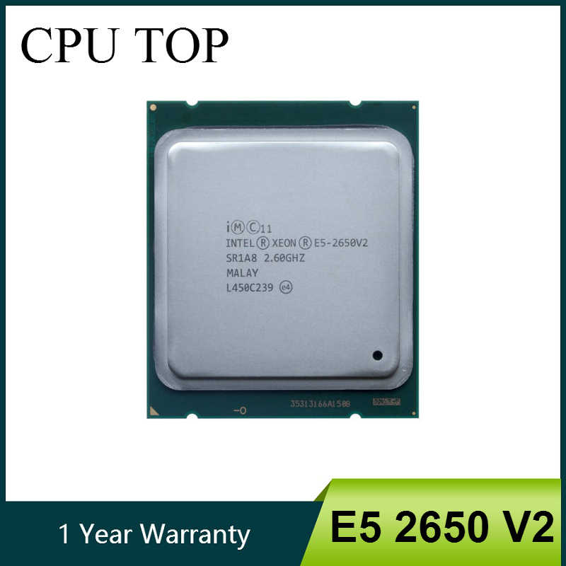 INTEL XEON E5-2650 V2 SR1A8 CPU 8 CORE 2.60GHz 20M 95W PROCESSOR E5 2650 V2