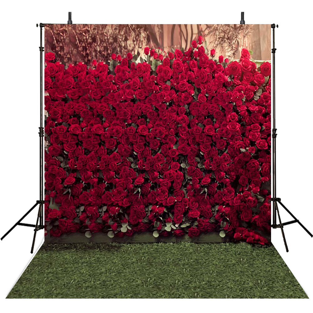 Wedding Photography Backdrops Rose Flowers Backdrop For