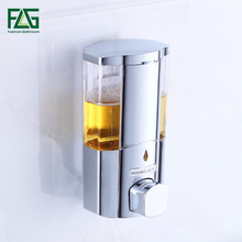 FLG Single&Double Soap Dispenser Wall Mounted Shampoo Shower Helper For Bathroom Bath Accessories