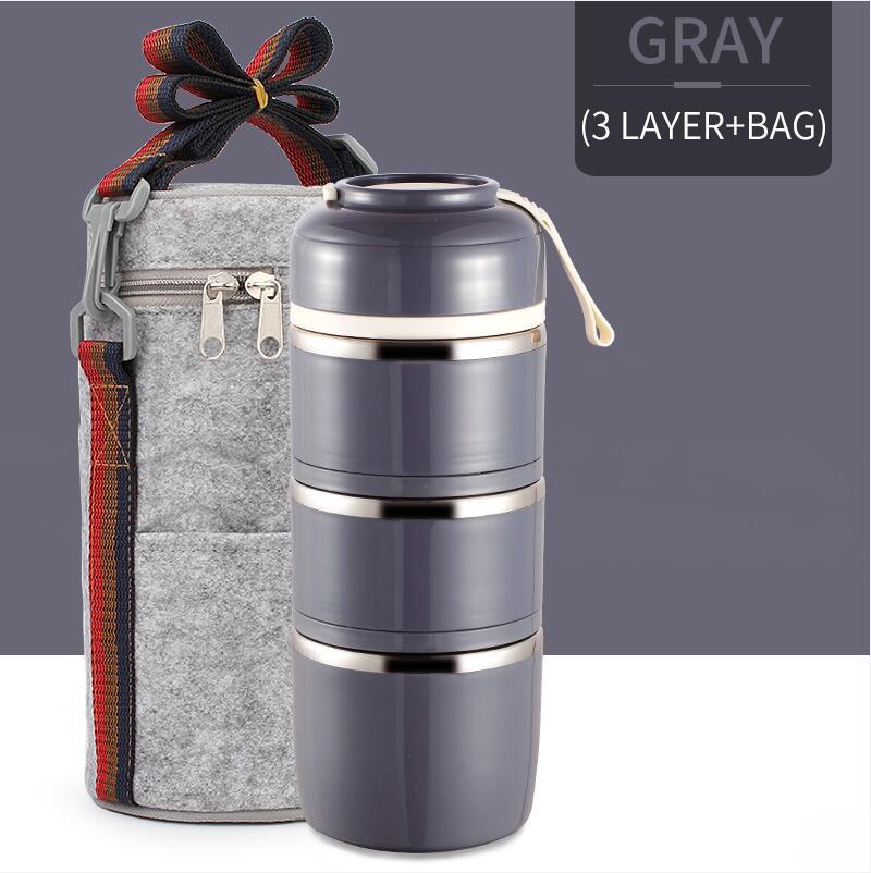 Gray 3 With Bag