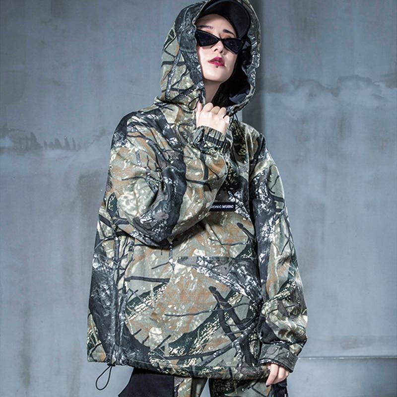 De Camouflage Chat Veste Lyl347 Ensembles Denim Pants Joggers Hoode Automne Pantalon And Pièce Pantalons Base Jambes 2 Faisceau Décontracté Mode Printemps Coat Femmes g6wqXIX