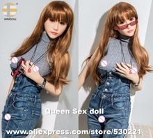 WMDOLL 165cm Top Quality Lifelike Silicone Sexy Dolls Japanese Adult Love Doll With Real Skin Vagina Anal Oral Sex