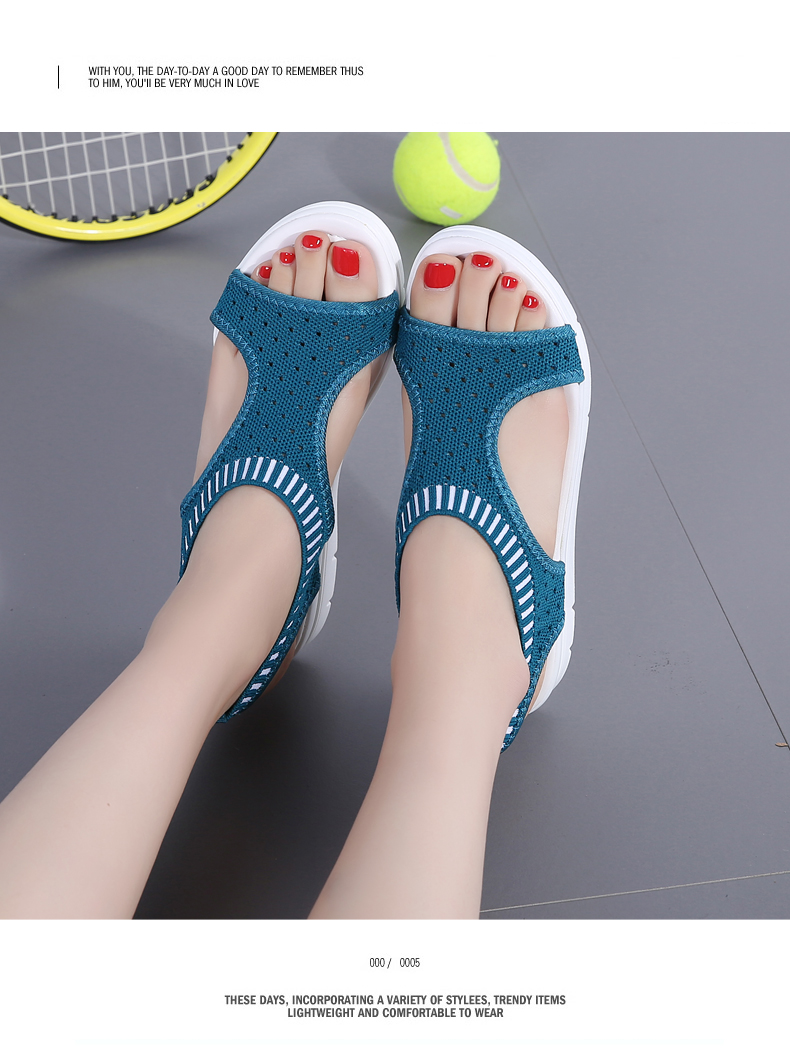 HTB1uVyDRCzqK1RjSZFLq6An2XXaB ZUNYU New 9 colors Woman Flat Summer Shoes Fashion Women's Sandals Wedge Comfortable Sandals Ladies Sexy Sandals Plus Size 35-45