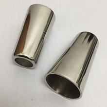 H:62MM. Inner diameter:31mm sliver alloy  round foot sleeve Sofa chair furniture conical