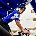 Женская Спортивная футболка с коротким рукавом  футболка для езды на велосипеде  лето 2019