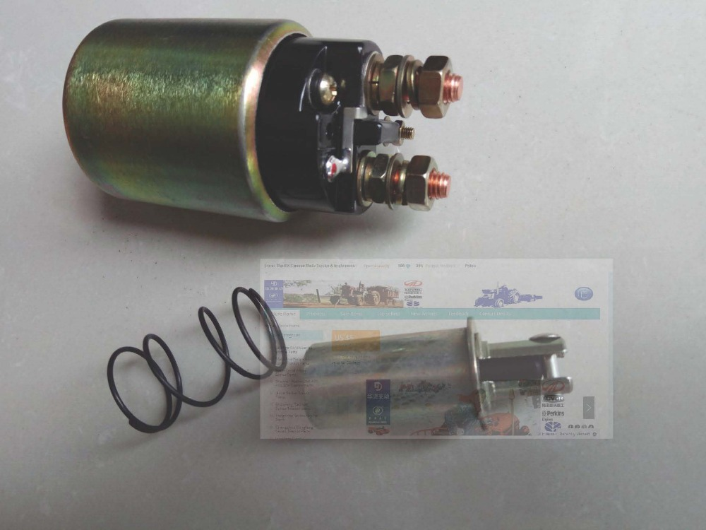 Tractor tarter motor parts, the solenoid switch for QD1332, please check the shape when make the order