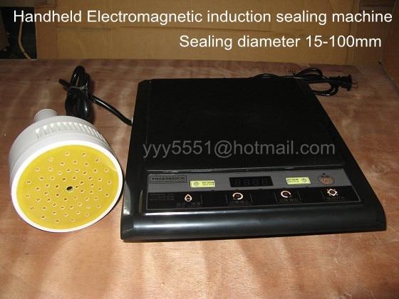 220V Hand-held electromagnetic induction sealer machine 500E for medical plastic bottle cap foil sealing machine (20-100mm)  цены