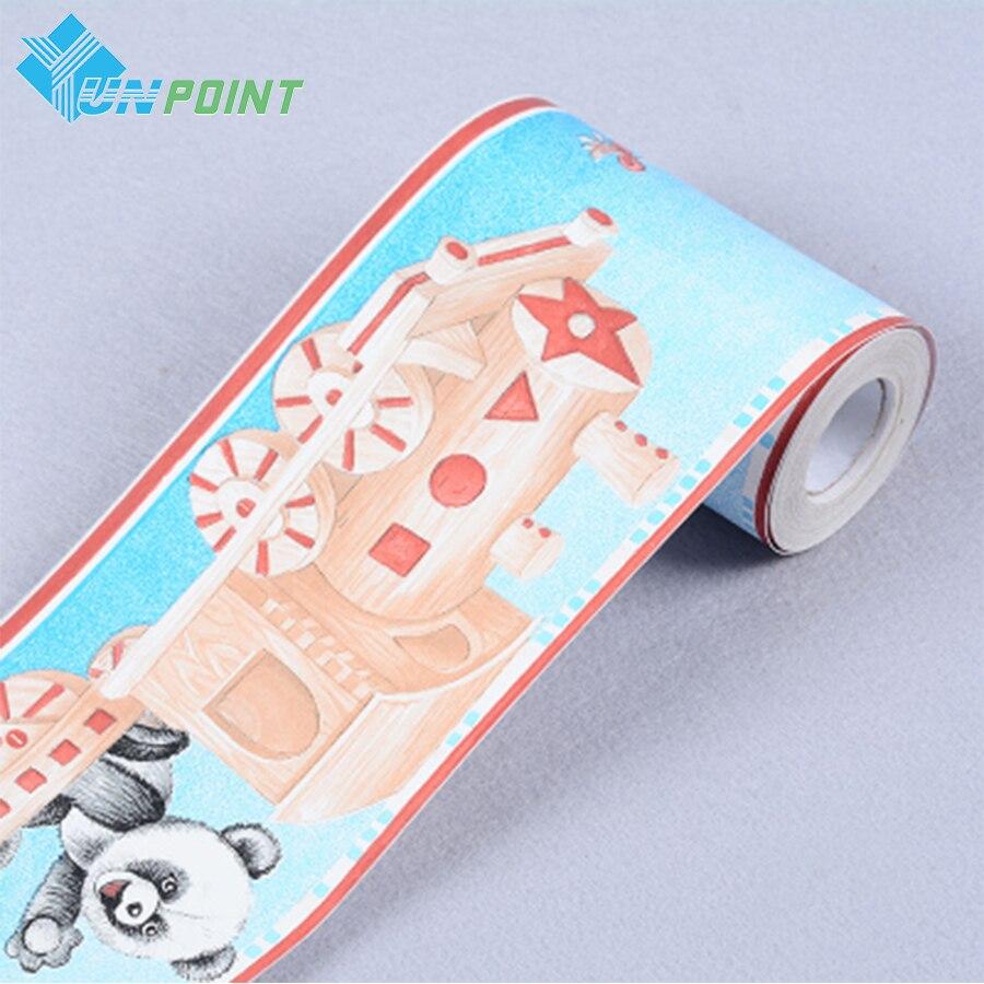nios fronteras del papel pintado para paredes