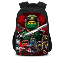 Children School Bags ninjago Game Schoolbag for Boy Backpack