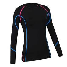Women QUICK-DRY Long Tee Brand Tops Exercise Runs Yogaing Clothing T-Shirt Workout Fitness Gymming Sporting Shirts Clothes V109