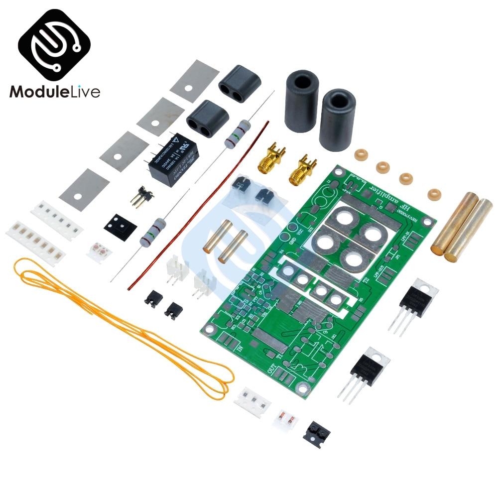 70W SSB linear HF Power Amplifier For FT-817 KX3 Ham Radio 13 8V Power  Supply DIY Kits