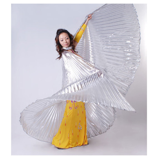 New Nice Egypt Belly Wings Dancing Costume Belly Dance accessories No Sticks Fashion Brighting17