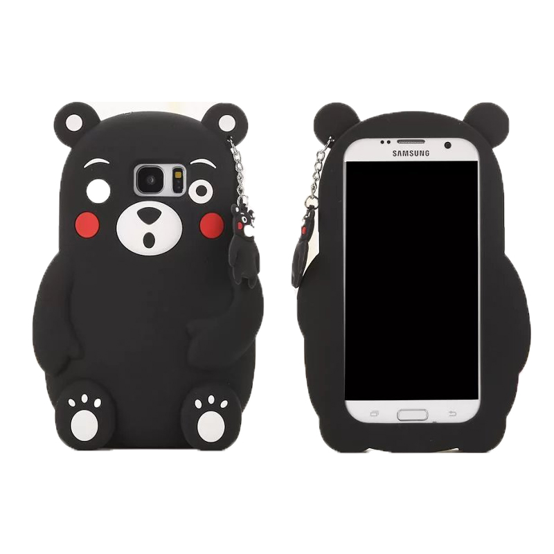 kawaii matsumoto kumamon silicone case for coque iphone 7. Black Bedroom Furniture Sets. Home Design Ideas