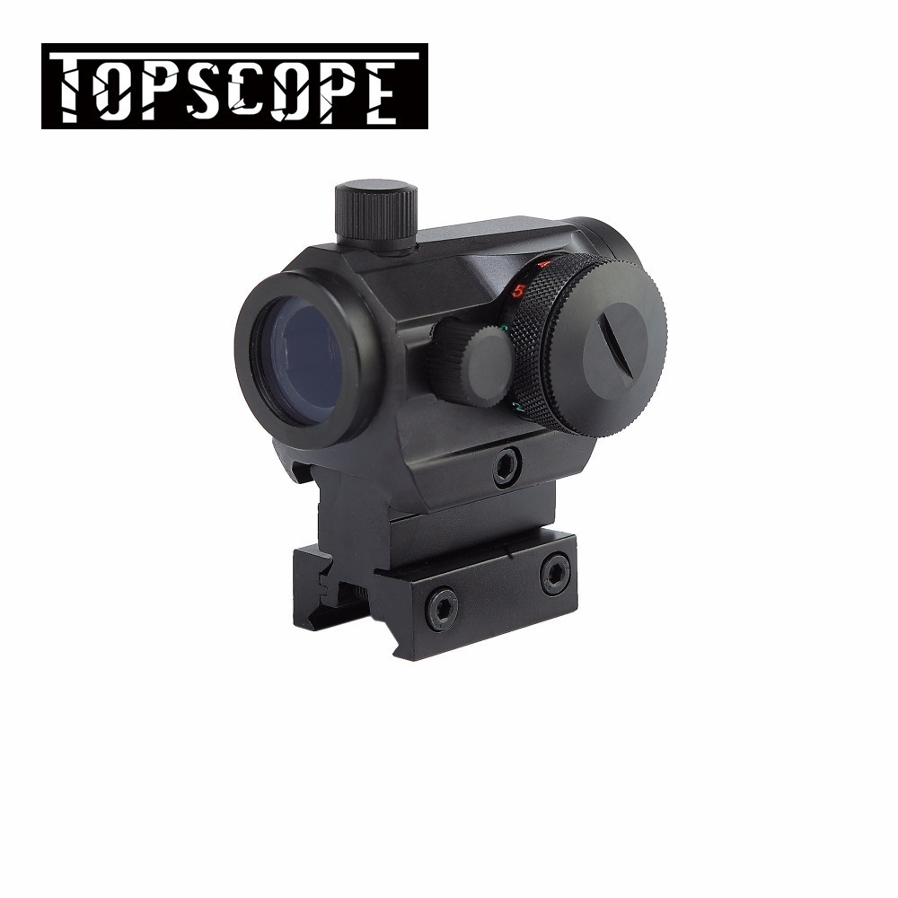 Hunting Red Dot Scopes 20mm Rail Reflex Airsoft Air Guns Scopes Mounts Tactical Optics Red/Green Dot Rifle Pistol Sight