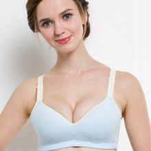 Sexy Cotton Maternity Nursing Bra Push Up Breast Feeding Bra For Pregnant Women Pregnancy Intimate Lactation Lingerie Underwear