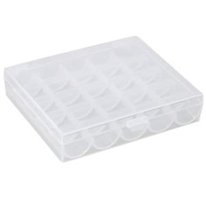 Image 2 - Lagerung rack 2019 25 gewinde nähen spule lagerung box nähen spule lagerung box