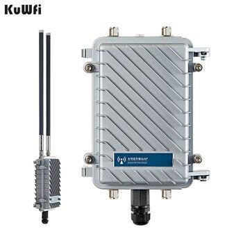 300 Mbps inalámbrico al aire libre CPE Router Wifi repetidor 500 mW WiFi amplificador de señal de punto de acceso Router con 2 piezas de la antena