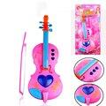 Venda quente brinquedos do bebê 1 ano simulação mini violino musical brinquedos brinquedos da criança kids preschool educacional brinquedos para as crianças