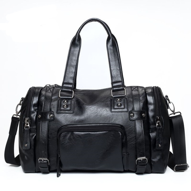 Leather Travelling and Office Bag for Men