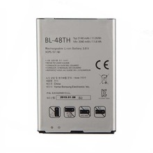 цена на Original High Capacity BL-48TH BATTERY for LG E940 E977 F-240K F-240S Optimus G  pro lite D686 E980 E985 E986 3140mAh