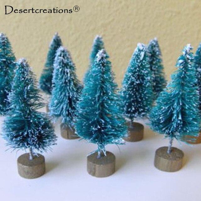 12 pcs 42cm mini artificial christmas tree xmas decor gift small pine tree desktop