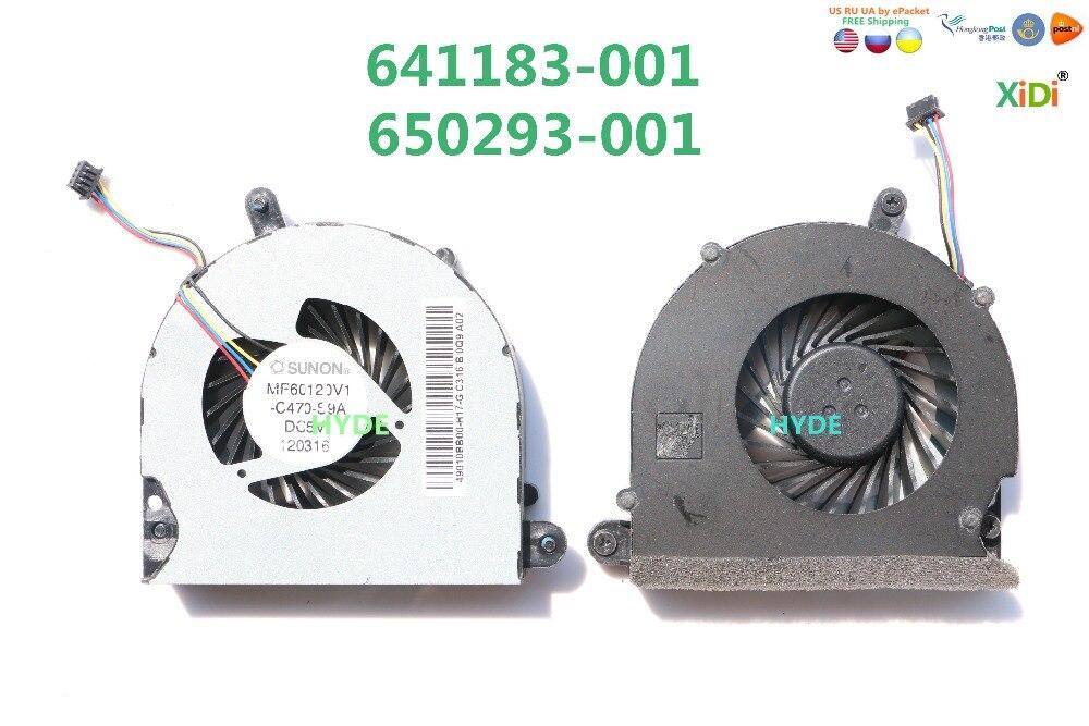 NEUE LÜFTER FÜR HP ProBook 6560 6560b 6065B 647603-001 641183-001 CPU-LÜFTER