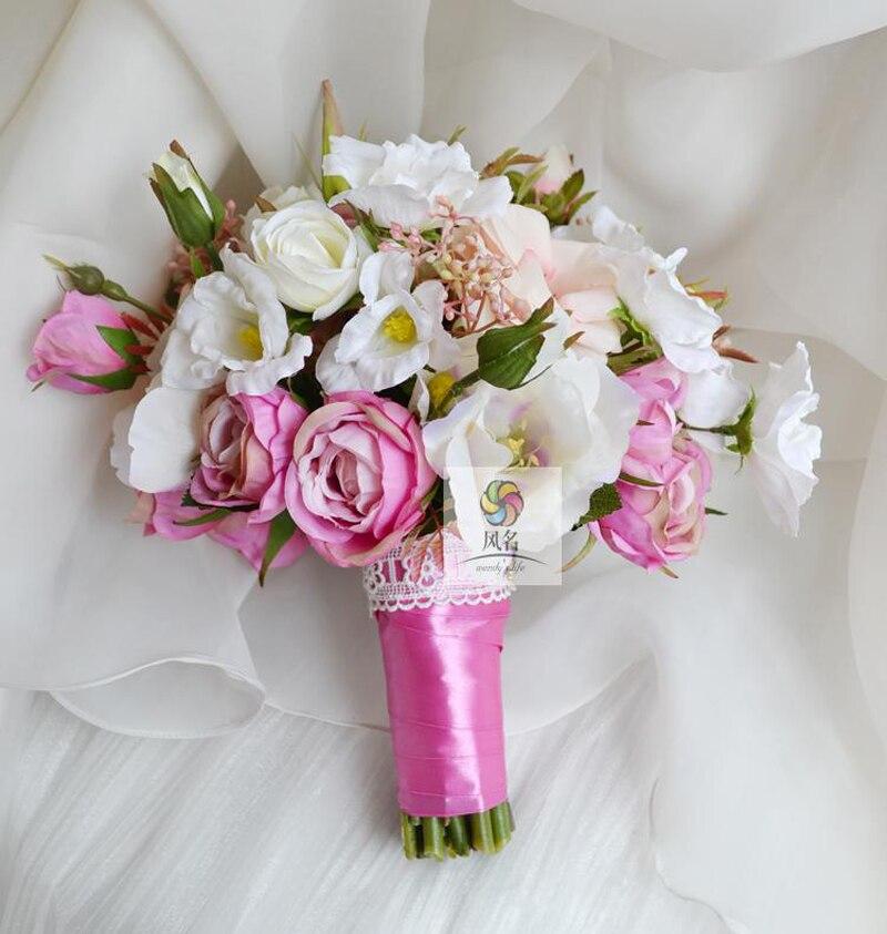 Ручной букет для невесты киев троещина, цветов воронеже дешево