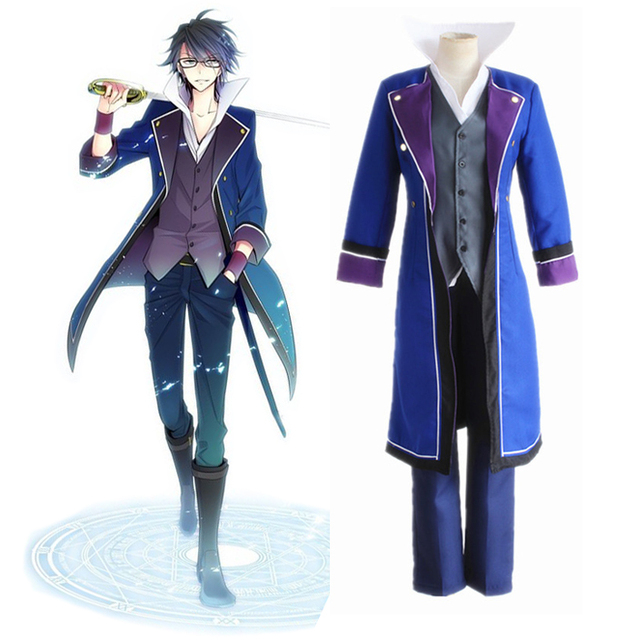 K Project K RETURN OF KINGS Fushimi Saruhiko Munakata Reisi Cosplay Costume  Full Set Uniform (