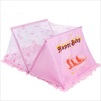 New Design Folded Babies Mosquito Net With Mats And Pillows Can Be UsedHome Outdoor And Travel