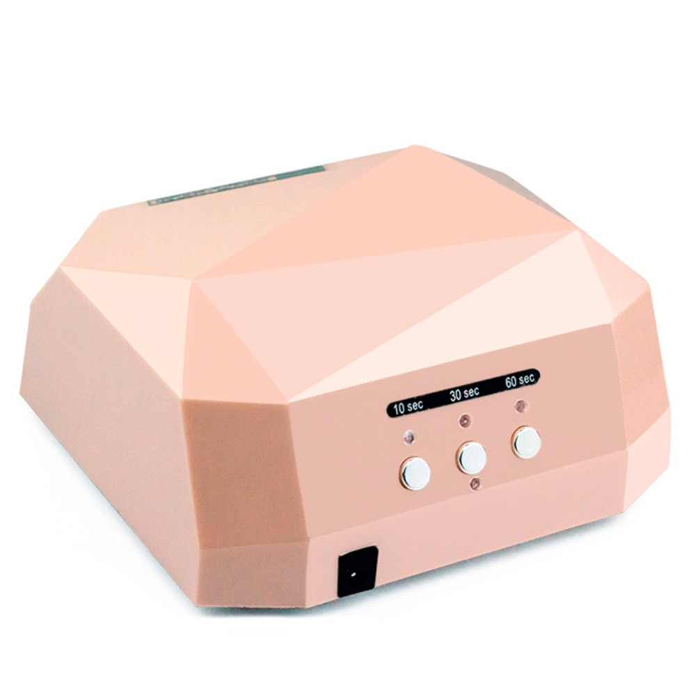 36W UV Led Lamp Nail Dryer 5 Color Diamond Shaped LED UV Lamp Nail Lamp Curing for UV LED Gel Nails Polish Salon Nail Art Tools lke professional nail dryer mini uv lamp 12w led uv nair dryer for curing nail gel polish for nails art tools